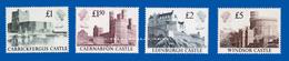 GREAT BRITAIN 1988 CASTLES U.M. S.G. 1410-1413 / CHATEAUX N.S.C. - Machins
