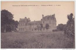 FONTAINE GUERIN CHATEAU DE MONET  CPA BON ETAT - France