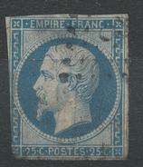 Lot N°32999   N°15, Oblit PC, Coté 285 Euros - 1853-1860 Napoléon III