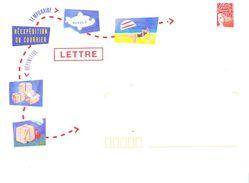 Enveloppe De Réexpédition Du Courrier - Unclassified