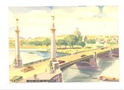 Dessin - Pont De Fragnée - Edition De L' Office Du Tourisme  De La Ville De Liège - 1955 (lau) - Liege