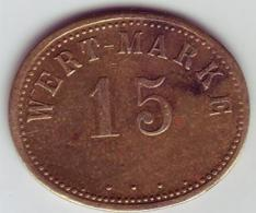 - ALLEMAGNE - Jeton Wert Marke. 15 - - Monétaires/De Nécessité