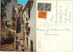 Portugal - Lissabon Rue Alfama - Gelaufen 1970 - Lisboa
