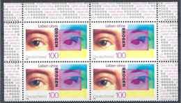1996 ALLEMAGNE 1714**  Drogue, Yeux,bloc De 4 - [7] West-Duitsland