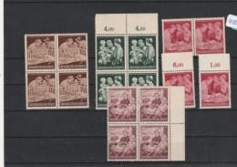 Deutsches Reich   Postfrisch **     4x MiNr. 869-872 - Non Classés