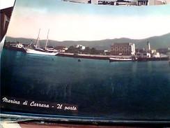 MARINA DI CARRARA PORTO NAVE SHIP  YACHT  VB1958 FU8279 - Carrara