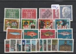 BRD         Posten/Lot    Postfrisch       MiNr. 406-430 - Non Classés