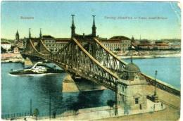 HUNGARY  BUDAPEST  Ferencz Jozsef  Hld - Ungheria