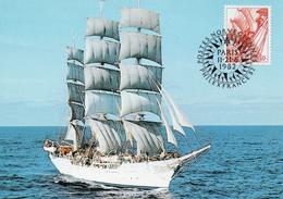 Segelschulschiff  CHRISTIAN RADICK (Norwegen)