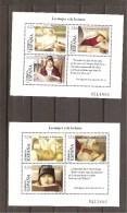 España/Spain-(MNH/**) - Edifil 4060-61 - Yvert BF-132-33 - Blocks & Kleinbögen