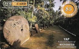 *MICRONESIA* - Scheda Usata - Micronesia