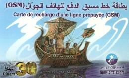 *TUNISIA* -  Scheda Usata - Tunisia