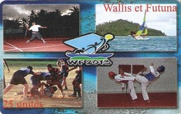 *WALLIS & FUTUNA* - Scheda A Chip Usata - Wallis-et-Futuna