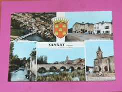 SANXAY / ARDT POITIERS    1950    MULTI VUES    FORMAT  10X15 Cm - Other Municipalities