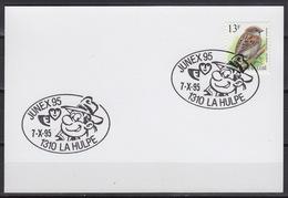 BELGIQUE :  Oblitération Spéciale Pour  'SAMMY' (Cauvin) – Bande Dessinée   (7-10-1995 La Hulpe) - Poststempels/ Marcofilie