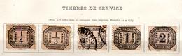 Service, Chiffre, 1 / 7, Cote 64 € - North German Conf.