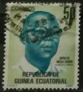 GUINEA ECUATORIAL 1980 Héroes Nacionales. USADO - USED. - Guinea Española