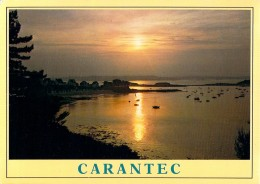 (F381) - CARANTEC, LA GREVE BLANCHE AU CHOUCHANT - Carantec