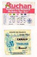 Billet Coupe De France,Girondins De Bordeaux-F.C. Gueugnon - Tickets - Vouchers