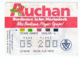 Billet Championnat De France,Girondins De Bordeaux-Racing Club Paris - Tickets - Vouchers