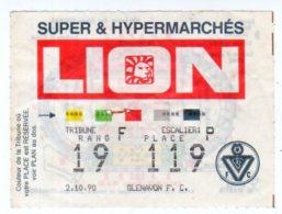 Billet Coupe D´Europe U.E.F.A,Girondins De Bordeaux-Glenavon F.C. - Tickets - Vouchers