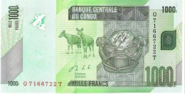 Congo - Pick 101 - 1000 Francs 2013 - Unc - Congo