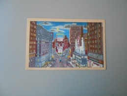 ETATS UNIS NY NEW YORK CITY TIME SQUARE BY NIGHT - Time Square