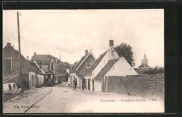 AK Noordwijk-Binnen, Voorstraat Mit Strassenbahn - Noordwijk (aan Zee)