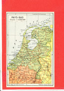 PAYS BAS  Cpa Carte Géographique     Edit Jeheber - Maps