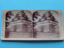 The MIKADO'S Castle, Oldest, Largest And Strongest In JAPAN ( Underwood & Underwood N° 52 ) Zie Foto´s Voor Details ) ! - Photos Stéréoscopiques