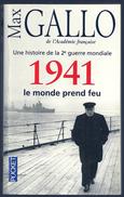 LIVRE - MAX GALLO : 1941 LE MONDE PREND FEU - Guerre 1939-45