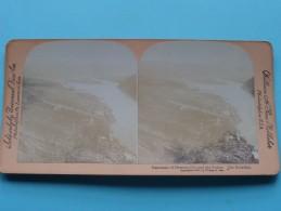 Panorama Of DAWSON City And The YUKON The KLONDIKE ( William H. Rau ) Zie Foto´s Voor Details ) ! - Photos Stéréoscopiques