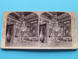 BEDROOM Of CATHERINE De MEDICIS Fontainebleau FRANCE ( Underwood & Underwood N° 30 ) Zie Foto´s Voor Details ) ! - Photos Stéréoscopiques