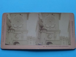 The WONDERFUL CLOCK Of BERNE SWITZERLAND ( James M Davis / 3937 ) Zie Foto´s Voor Details / PLIER ) ! - Photos Stéréoscopiques