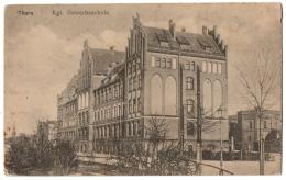 CPA PAYS BAS - THORN - Kgl. Gewerbeschule - Pommern