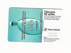 08 / 96  EAU D EDEN 50 U  SC7 DN C + 8 N° ROUGES SUR 2EME LIGNE    UTILISÉE - Parfum