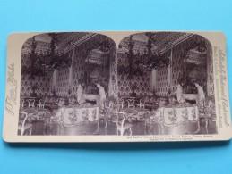 Ladies´ SALON LIECHTENSTEIN Royal Palace Vienna AUSTRIA ( Underwood & Underwood N° 37 ) Zie Foto´s Voor Details ) ! - Stereoscopic