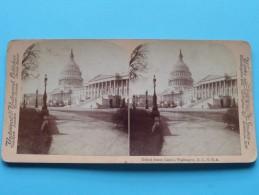 UNITED STATES CAPITOL, WASHINGTON D.C. U.S.A. ( Underwood & Underwood ) Zie Foto´s Voor Details ) ! - Stereoscopic