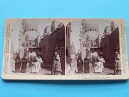 MOSQUE Of SULTAN BARKUK Cairo EGYPT ( Underwood & Underwood N° 42 ) Zie Foto´s Voor Details ) ! - Photos Stéréoscopiques