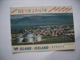 IJsland Iceland Reykjavik City Panorama - IJsland