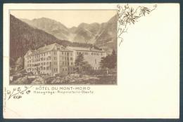 Piemonte MACUGNAGA Hotel Du Mont Moro - Italia
