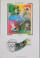FR. - 2004 - CP 1er Jour - J.O. D'ATHENES - Paris Le 28.06.2004 - SUPERBE - Cartoline Maximum