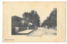 DIGNE (cpa 04)    Boulevard Victor Hugo -  - L 1 - Digne