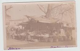 SALONIQUE - CARTE PHOTO - MARCHAND DE LEGUMES - Grecia