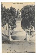 DIGNE (cpa 04)    Statue Gassendi -  - L 1 - Digne