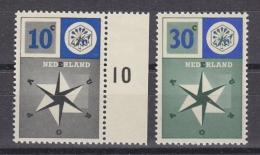 Europa Cept 1957 Netherlands 2v ** Mnh (33796G) - 1957