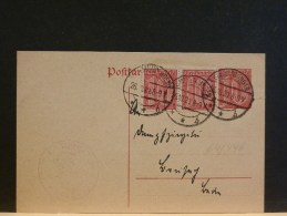 64/496   CP  ALLEMAGNE  1920 - Lettres & Documents