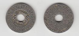 MAROC - 25 CTS (AH 1342) POISSY - Marruecos