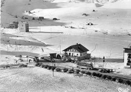 """La Toussuire(savoie),alt.1800 M Arret Des Cars. Hotel""""Les Alpes"""". Tel. : 22. Mr LANNIER,propriétaire. - Autres Communes"""