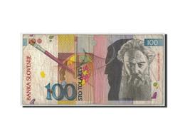 Slovénie, 100 Tolarjev, 1992, 1992-01-15, KM:14A, B+ - Slovénie